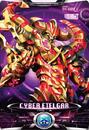 Ultraman X Cyber Etelgar Card