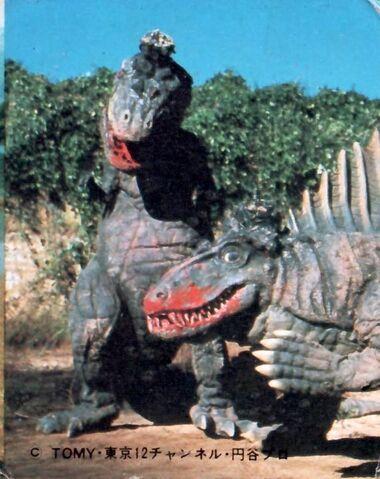 File:Dimetrodon and T-rex.jpg