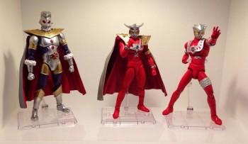 Ultra-Act Ultraman King,Ultra-Act Ultraman Leo Renewal version & Ultra-Act Astra Renewal version