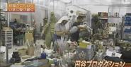 Behind the Scenes in the Tsuburaya Workshop