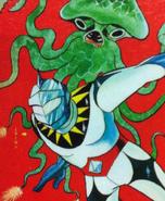 Mirrorman manga cover
