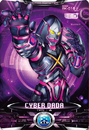 Ultraman X Cyber Dada Card