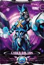 Ultraman X Cyber Baltan Card