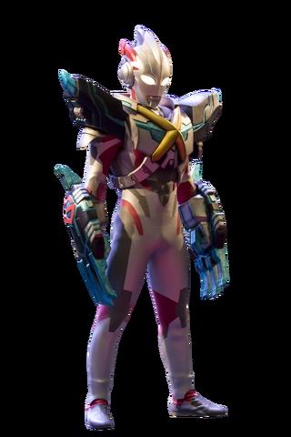 File:Ultraman X Gomora Armor Render 4.png