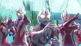 UltramanMax,Xenon,Neos and Seven21