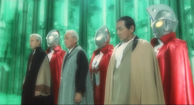 File:Jack, Ultraman, Ace & their human forms.png