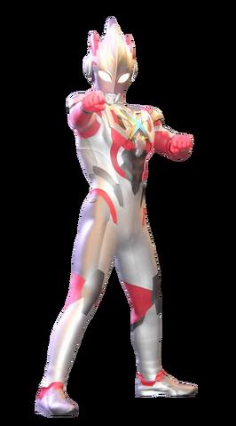 File:Ultraman X Render .png