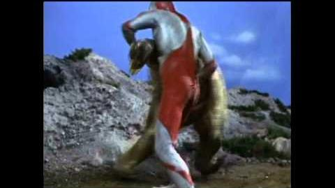 Ultraman vs Goldon