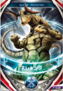 Ultraman Orb Eleking Kaiju Card