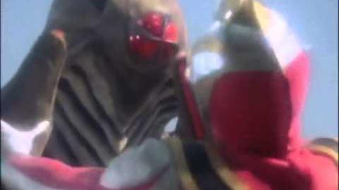 Ultraman Gaia vs Rukuu