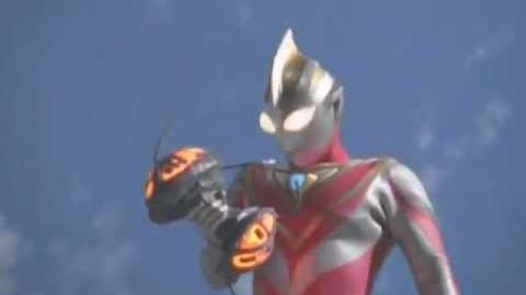 Ultraman Gaia vs Tenkai