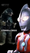 Zaragas vs Ultraman piv
