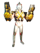 Ultraman X Zetton Armor Render 2