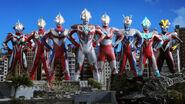 Ultraman, Tiga, Zero, Nexus, Max, Ginga, Victory & X