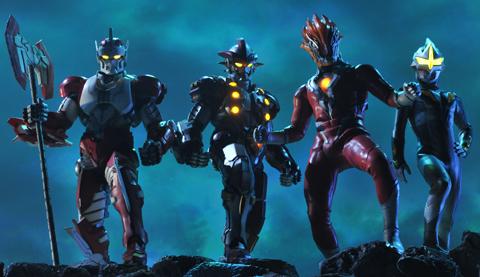 File:Glenfire,Mirror Knight,Jean-bot & Jean-nine in rescue.jpg