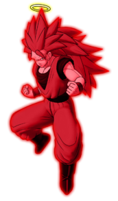 Goku super kaioken 3 by db own universe arts-d3jhww1