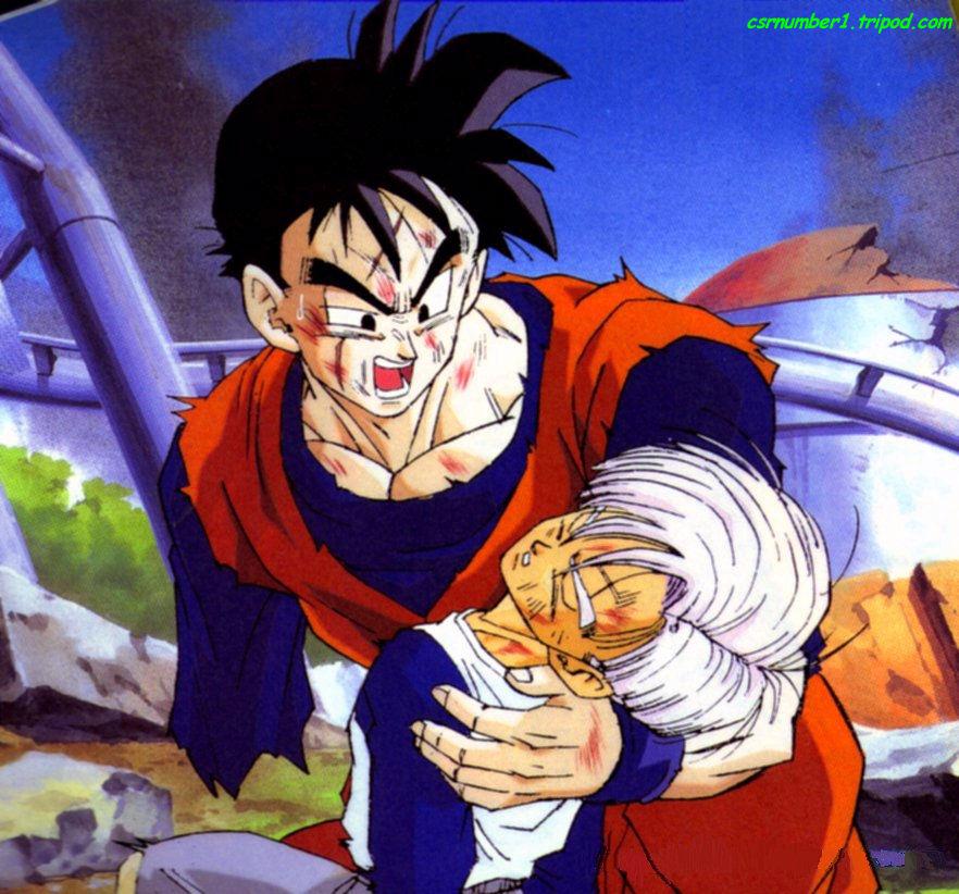 Image - Trunks and Gohan.jpg | Ultra Dragon Ball Wiki ...