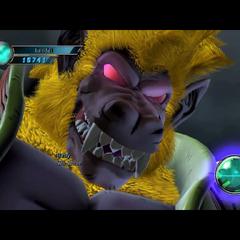 The Great Ape Baby Vegeta boss