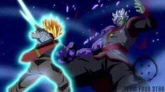 Trunks kill Zamasu Shining Finger Sword style!!-3