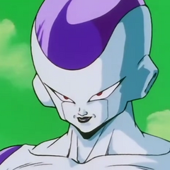 Frieza after performing the Death Wave