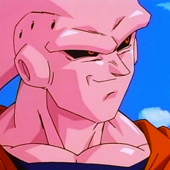 Super Buu with Gohan absorbed.