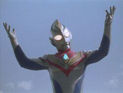 Imitation Ultraman Dyna victory