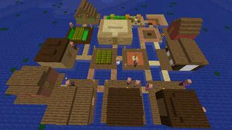 Riverboat village