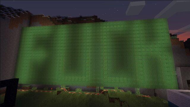 File:F-word glow-in-the-dark text mural.jpg
