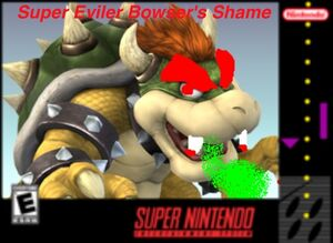 Super evil we bowser shame