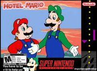 Hotel Mario SNES