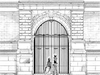 Academy Gates Exterior M