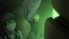 Raishin Discovering Lisette's Dead Body in Her Own Locker II