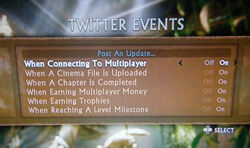Uncharted 2 Among Thieves Twitter events