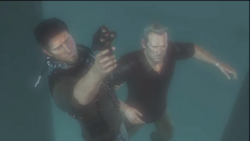 Drake's Deception - Nathan holding a flare gun