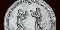 Antique Boxing Medallion