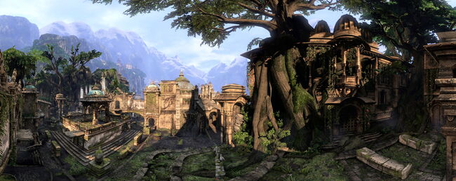 The Lost City Panorama