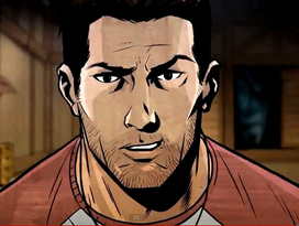 Nate in Uncharted: Eye of Indra