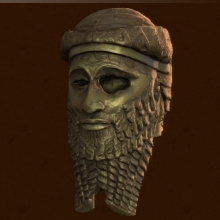 File:Uncharted 3 Treasure Akkadian Statue Head image.jpg
