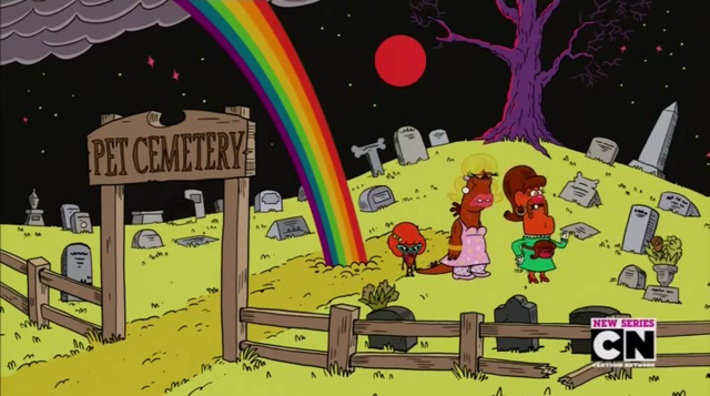File:Uncle Grandpa, Belly Bag, Mr. Gus, and Pizza Steve in Tiger Trails 16.png