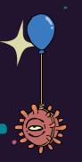 Bomb balloon