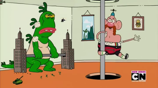 File:Uncle Grandpa and Mr Gus and Belly Bag in Belly Brothers 1.png
