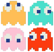 Pac-Man Ghosts