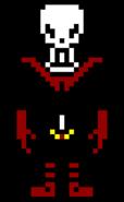 Underfell papyrus sprite by lukethedeadpoolfan-d9smki3