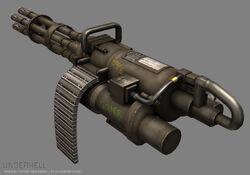 Minigun render