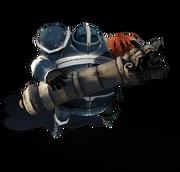 Human gunner