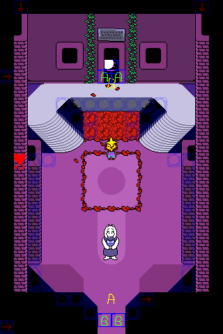 undertale how to get to sans room