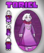 Toriel Art
