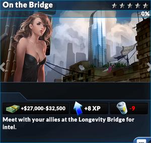 Job on the bridge