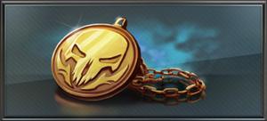 Item skull medallion