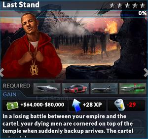 Job last stand